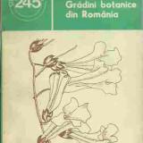 Vasile Diaconescu - GRADINI BOTANICE DIN ROMANIA - Carte Biologie