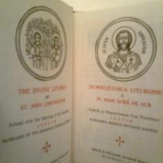 The Divine Liturgy... Sf. Ioan Gura de Aur - IUSTIN Patriarhul BOR (1977) - Carti bisericesti