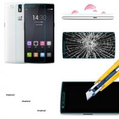 Folie de protectie OnePlus, Anti zgariere - Folie sticla OnePlus One A0001 securizata protectie antisoc originala MOCOLO