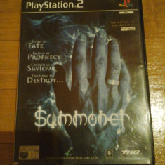 JOC PS2 SUMMONER ORIGINAL PAL / STOC REAL in Bucuresti / by DARK WADDER - Jocuri PS2 Thq, Actiune, 12+, Single player