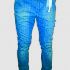 Blugi /Jeans Zara Lefties slim fit-skinny model - original 100%-cel mai mic pret - Blugi barbati, Skinny, Lasat