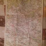 HARTA INTERBELICA - PLOESTI- BUZAU.
