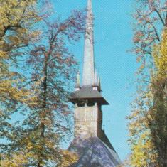 Bnk cp Oradea - Muzeul Judetean Bihor - Biserica din lemn - circulata