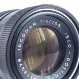 Obiectiv Isconar 135mm f4 Isco Gottingen M42 stare buna, super bokeh - Obiectiv DSLR, Tele, Manual focus