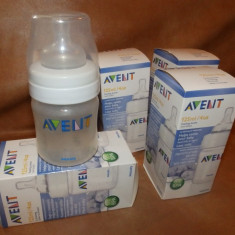 Set biberoane plastic Philips Avent Anticolici, 0-6 luni, Fara BPA