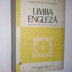 Manual Engleza, clasa a XI- a ( anul VII de studiu), 1989 - Curs Limba Engleza
