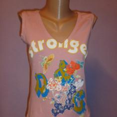 Tricou Dolce Gabbana 100% original - Tricou dama Dolce & Gabbana, Marime: M, Culoare: Din imagine, Imprimeu text, Fara maneca, Universala