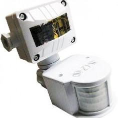 Senzor Miscare/Prezenta 180 grade JQ-35 Alb - Senzori miscare, Exterioara