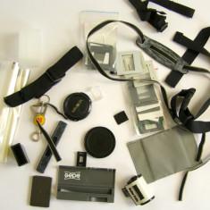 Lot capace curele accesorii foto - Capac Obiectiv Foto