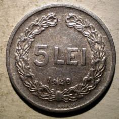 Monede Romania, An: 1949 - B.190 ROMANIA RPR 5 LEI 1949
