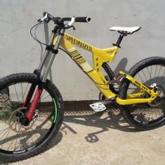Mountain Bike, 17 inch, 26 inch, Numar viteze: 9, Aluminiu, MTB Full Suspension - Full Suspension - Specialized Big Hit 3, Boxxer WC, FOX, Dt Swiss