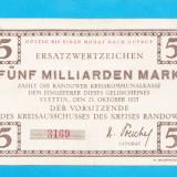 bancnota europa - Germania 5 milliarden mark 1923 1