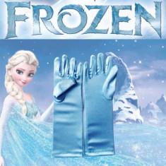 Manusi Copii Albastre Disney - Anime FROZEN - Printesa ELSA