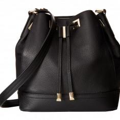 Geanta Calvin Klein Pebble Leather Drawstring | 100% original, import SUA, 10 zile lucratoare z12107 - Geanta Dama