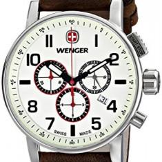 Wenger Men's 01 1243 105 | 100% original, import SUA, 10 zile lucratoare a32207 - Ceas barbatesc Wenger, Quartz