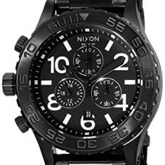 Nixon 42-20 Chrono Black Dial   100% original, import SUA, 10 zile lucratoare a32207 - Ceas barbatesc Nixon, Quartz