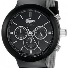 Lacoste Men's 2010651 Borneo Black | 100% original, import SUA, 10 zile lucratoare a22207 - Ceas barbatesc Lacoste, Quartz