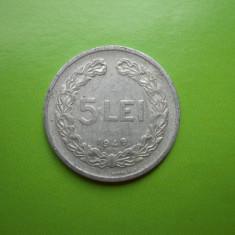 Monede Romania, An: 1949 - HOPCT ROMANIA 5 LEI 1949 [ 2 ]