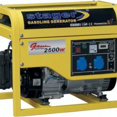 Generator curent - STAGER generator GG 3500, open frame, benzină, 3 kW