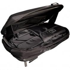 Geanta laptop - 4World geanta + rucsac notebook 08581 15.6 inch, negru