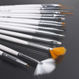 SET 15 pensule unghii pensule 15 unghii 15 pensoane unghii Pensule Nail Art 15 - Ustensile