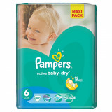 PAMPERS Scutece Active Baby 6 ExtraLarge Value Pack 42 buc