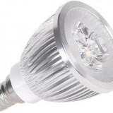Bec/neon - Vipow Bec LED ZAR0251, E14, putere 3 x 2 W, 270 lumeni, alb cald
