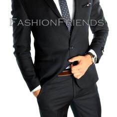 Costum tip ZARA - sacou + pantaloni - costum barbati casual office - 4879