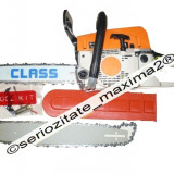 drujba benzina ieftina 52cc 3 CP CLASS noua + lama + lant REZERVA