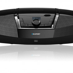 Combina audio - Blaupunkt microsistem audio Boombox BB12BK, radio FM, CD/MP3/USB/AUX