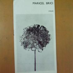 Maricel Brici pliant expozitie sticla forme decrorative Bucuresti 1976 Amfora