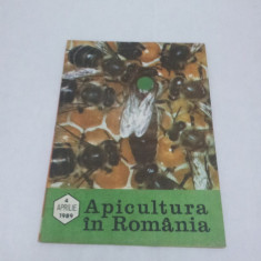 Revista/Ziar - REVISTA APICULTURA ÎN ROMÂNIA NR. 4-APRILIE 1989