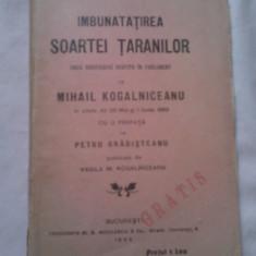 Carte veche - CARTE IMBUNATATIREA SOARTEI TARANILOR 1905