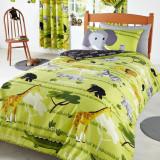 Lenjerie pat copii import Anglia; garantie la livrare; culori ca in prima foto - Lenjerie de pat