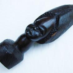 Arta din Africa - Frumoasa sculptura in abanos - arta africana