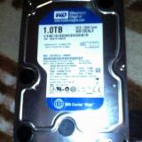 HDD WESTERN DIGITAL CAVIAR BLUE 1.0TB SATA /32MB CACHE - Hard Disk Western Digital, 500-999 GB, Rotatii: 7200