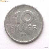 G2. UNGARIA 10 FILLER 1966, 0.8500 g., Aluminum, 19.1 mm - BINE COTATA **, Europa, An: 1966