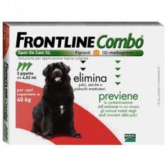 FRONTLINE COMBO XL, Peste 40kg - Caine, Gen: Mascul