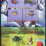 CONGO 2009 - MASINI CLASICE, 1 M/SH SI 1 S/S NEOBLITERATE - PP 720