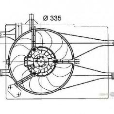 Ventilatoare auto - Ventilator radiator FIAT ALBEA 178 PRODUCATOR HELLA 8EW 351 041 041