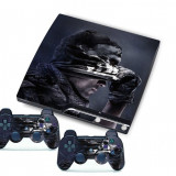 Skin Autocolant Sticker Playstation 3 PS3 Slim - CALL OF DUTY Ghosts (GameLand)