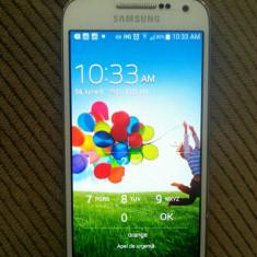 Samsung Galaxy S4 mini - Telefon mobil Samsung Galaxy S4 Mini, Alb, Neblocat, Single SIM