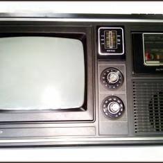 Radio-casetofon portabil TV SHARP TRIMATE - Fabricat in Japonia, Osaka