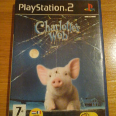 Jocuri PS2 Altele, Actiune, 12+, Single player - JOC PS2 CHARLOTTE's WEB ORIGINAL PAL / by DARK WADDER