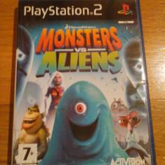 JOC PS2 DREAMWORKS MONSTERS vs. ALIENS ORIGINAL PAL / by DARK WADDER - Jocuri PS2 Activision, Actiune, 12+, Multiplayer