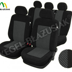 Husa Auto - Huse scaune DACIA Logan Sedan, set huse auto fata si spate Hsd197 - HSD78006
