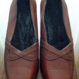 Pantof dama din piele marimea 37 foarte frumos - Super Pret