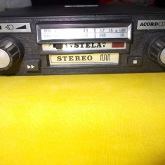 RADIO CASETOFON AUTO STEREO, STELA, FABRICAT DE ELECTRO -MURES - CD Player MP3 auto