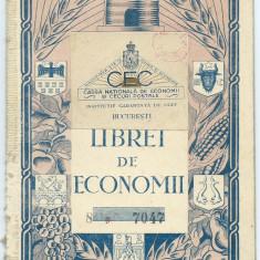 Carnet CEC - 1934 - Cambie si Cec
