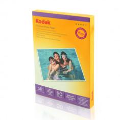 HARTIE FOTO 13X18 KODAK 200GSM GLOSSY INKJET 50COLI/TOP - Hartie foto imprimanta